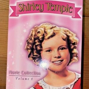 Vintage VHS tapes Shirley Temple box set 3 movies